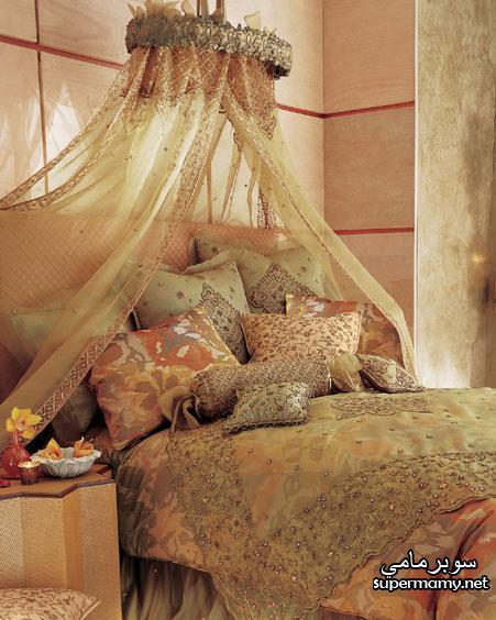 ديكورات مفارش سرير بالوان رائعه Supermamy47a62ac1db