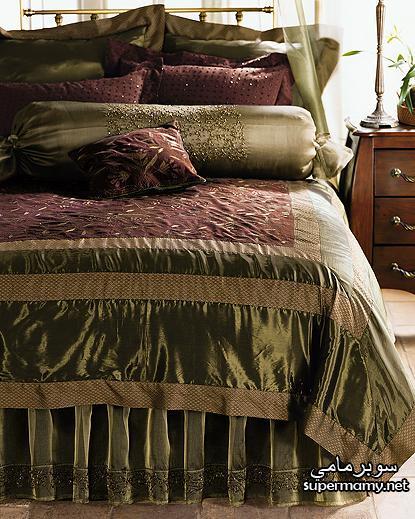 ديكورات مفارش سرير بالوان رائعه Supermamy4aa81cb188
