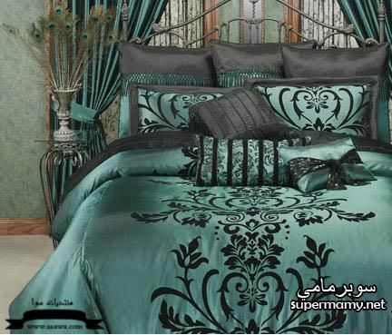 ديكورات مفارش سرير بالوان رائعه Supermamy7834d4674f