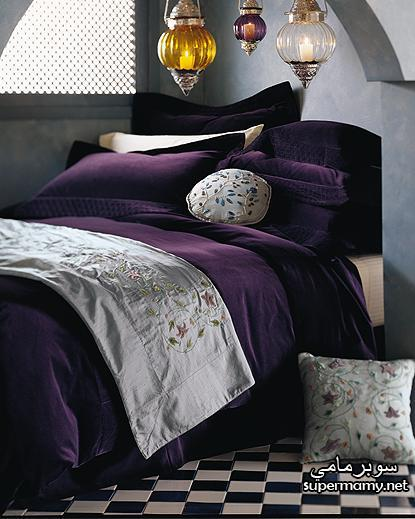 ديكورات مفارش سرير بالوان رائعه Supermamy9f6f2eb8a3
