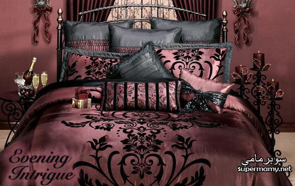 ديكورات مفارش سرير بالوان رائعه Supermamyd0d162224f