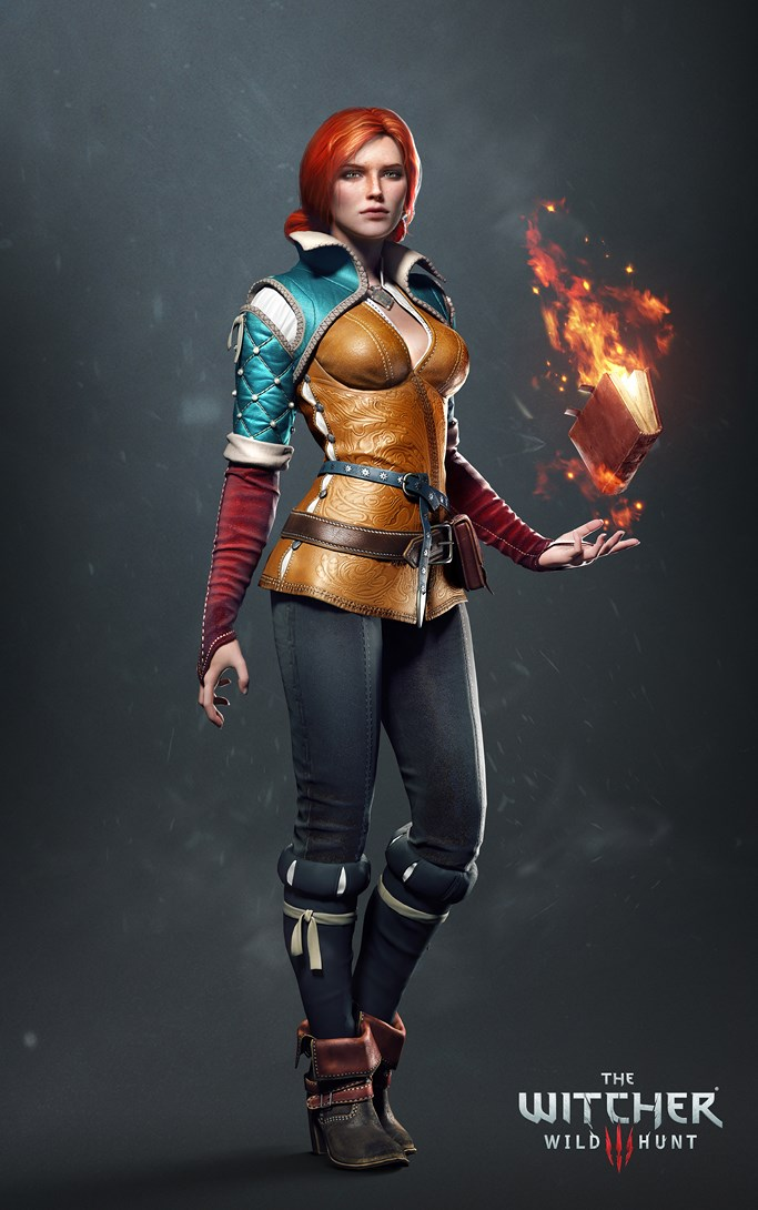 The Witcher 3 - Triss 1/4 Statue   Witcher_3_wild_hunt_the_-_artwork_-_triss