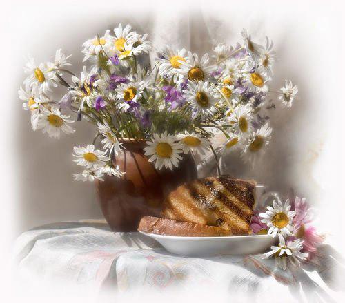 *Фуршетный столик*.  Flowers_1