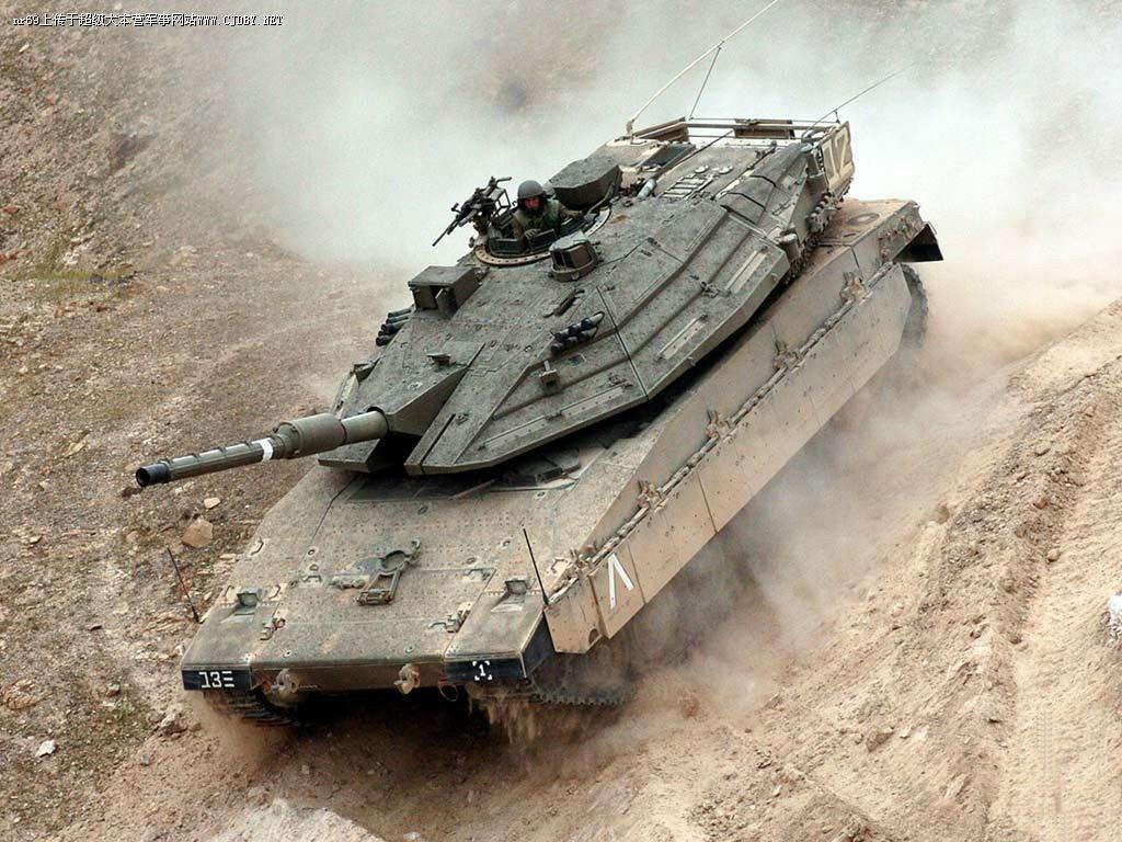 الجيش - والقدرات العسكرية - والوحدات الخاصة في إسرائيل MerkavaMkIVcommanderHatch