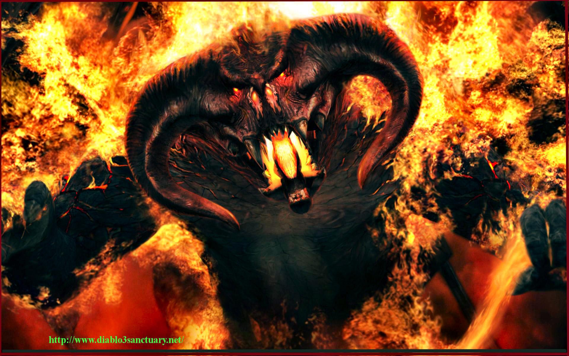 Humeur de l'instant... en ce que vous voulez - Page 11 The-Face-Of-Diablo-3-In-Hell-Wallpaper-1920x1200