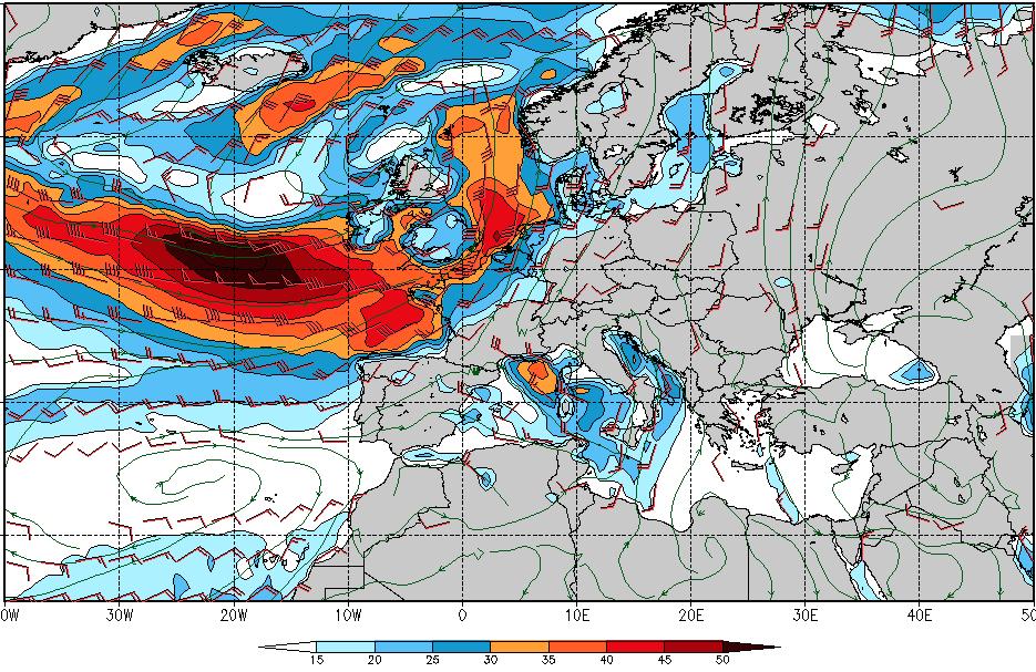 Avis de Tempête pour les 7 et 8 février sur la moitié nord de la France SwellXXL2016