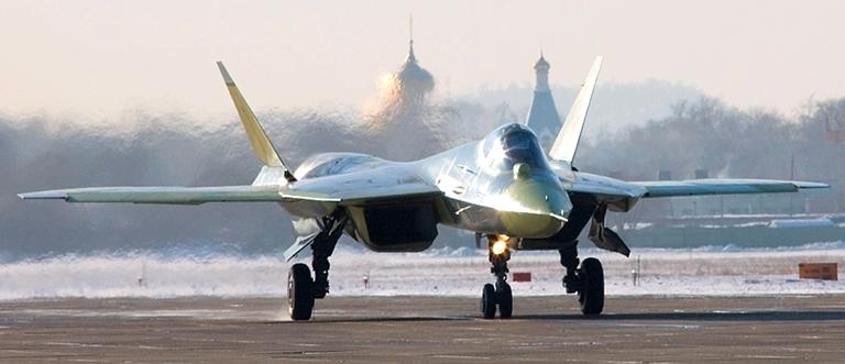 مقاتلة T50 SukhdS