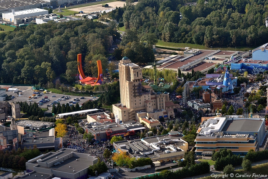 Disneyland® Paris vista dall'alto 29461