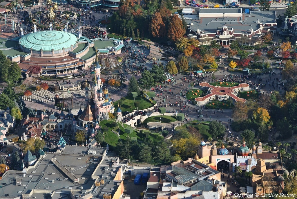 Disneyland® Paris vista dall'alto 32470