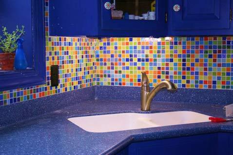 Glass Tile Backsplash for kitchen  2012  Photoskitchen2-colorful-glass-tile-mosaic-backsplash-detail