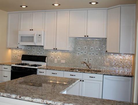 Glass Tile Backsplash for kitchen  2012  Photoskitchen2-white-flower-glass-tile-mosaic-backsplash