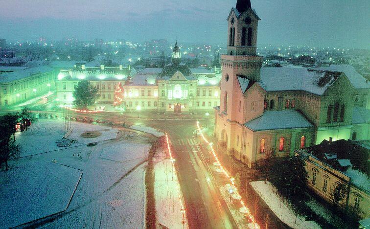 Gradovi  Zrenjanin_nocu