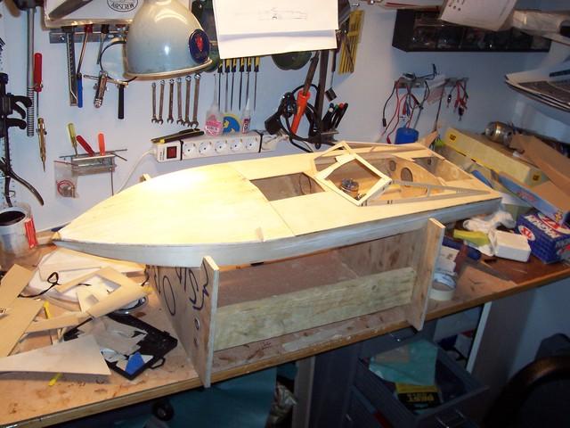 Jag bygger en båt, (förlåt...) Sonic Fear 100_2499