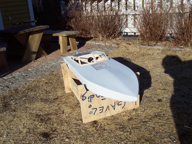 Jag bygger en båt, (förlåt...) Sonic Fear 100_2503