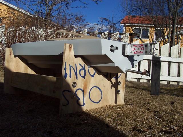 Jag bygger en båt, (förlåt...) Sonic Fear 100_2506