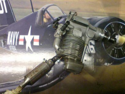 Corsair Hangar 9 - -Bygget F4U-16
