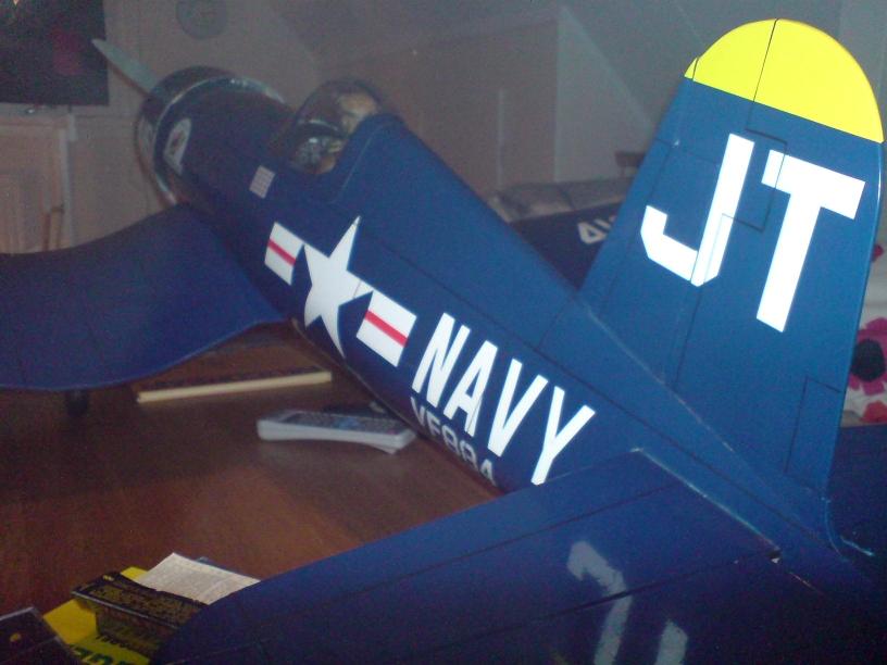Corsair Hangar 9 - -Bygget - Sida 2 F4U-40