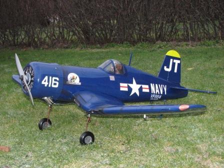 F4U Corsair, Hangar 9 F4U-41