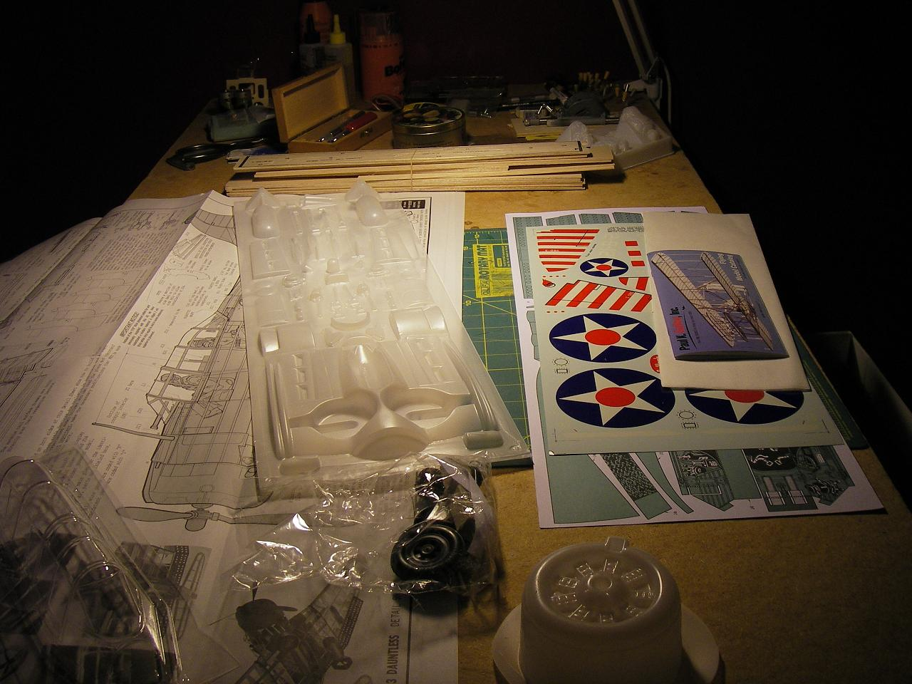 Byggtråd SBD-3 Dauntless SBD2