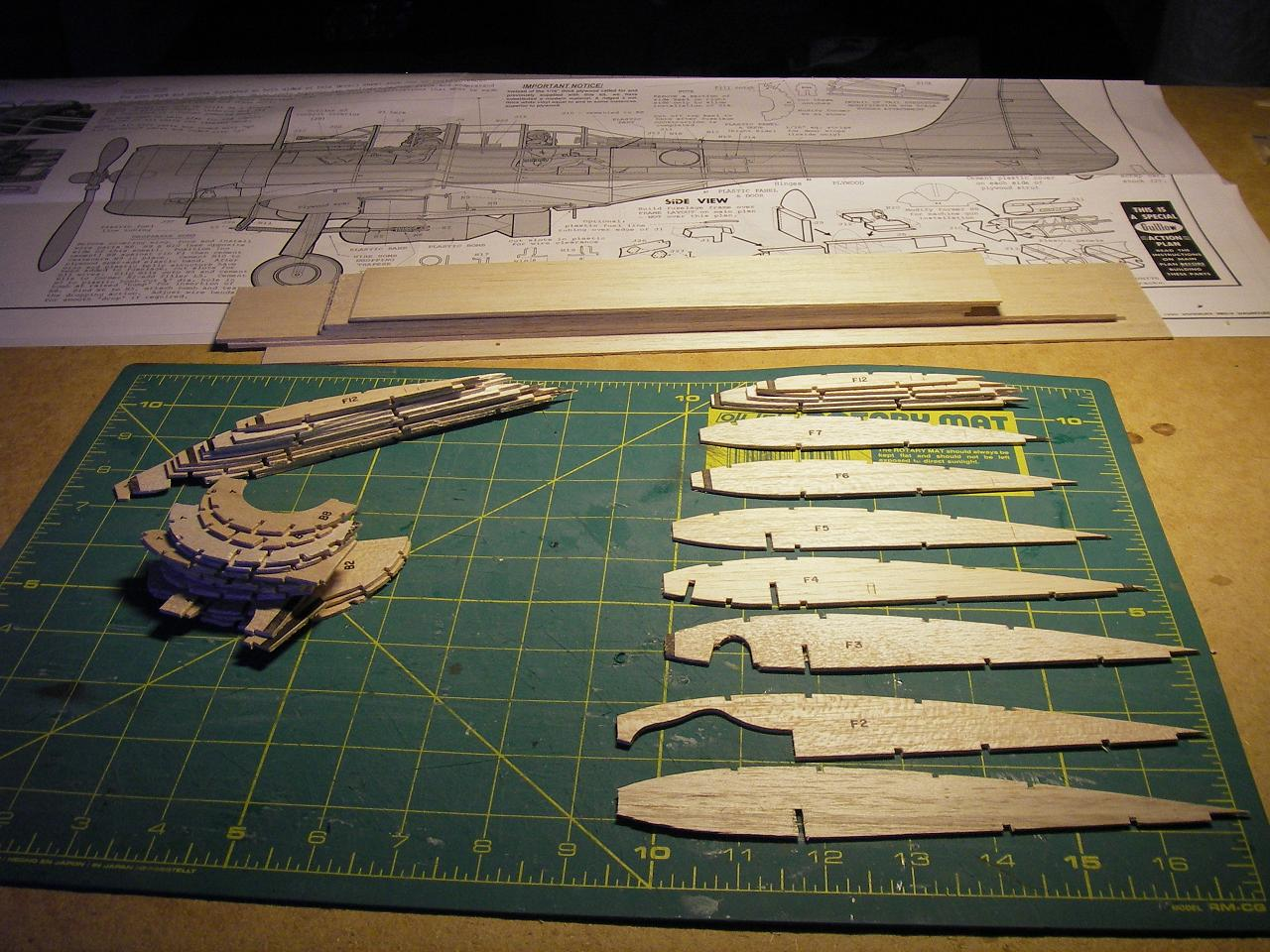 Byggtråd SBD-3 Dauntless SBD3