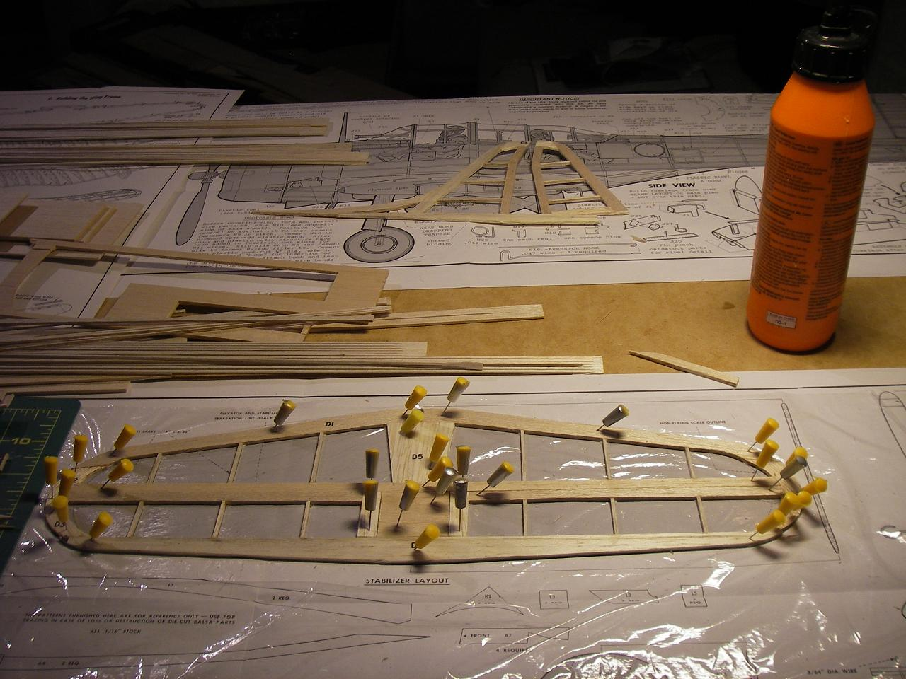 Byggtråd SBD-3 Dauntless SBD4