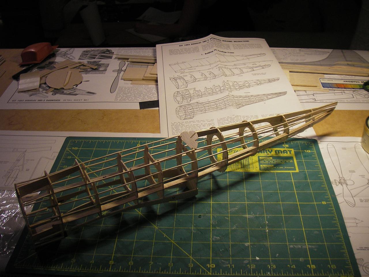 Byggtråd SBD-3 Dauntless SBD6