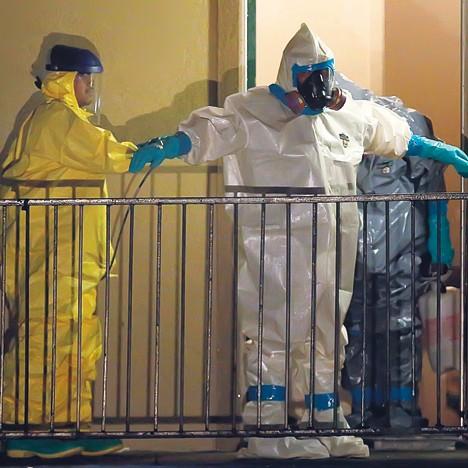 Zapad zastrašen ebolom 274615