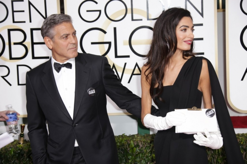 George Clooney at the Golden Globes January 2015 - Page 5 279660