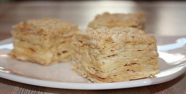 "Торт \""Наполеон\"" на сковороде Tort-Napoleon-min"