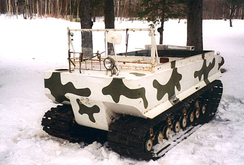 CAMO & O.D. VEHICLES M29C_Weasel
