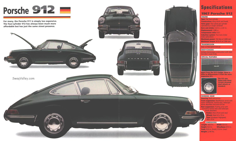Basé sur les nombres, il suffit d'ajouter 1 au précédent. - Page 40 1967_Porsche_912