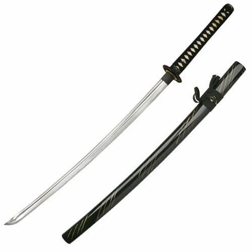 Evans      Samurai_Katana-Dragon_Tsuba_Black_SW-941BK