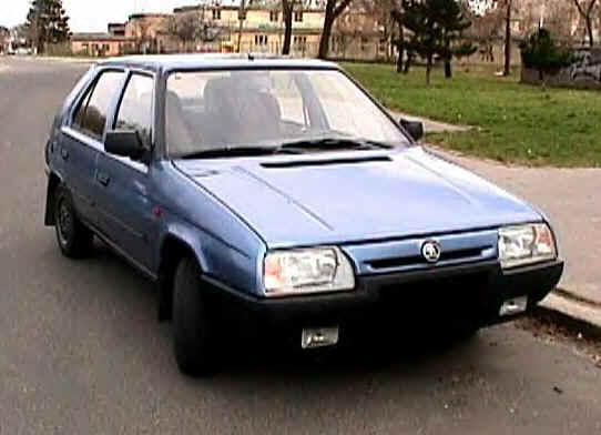Skoda Auto Skoda_Favorit_135_SL_-_1988