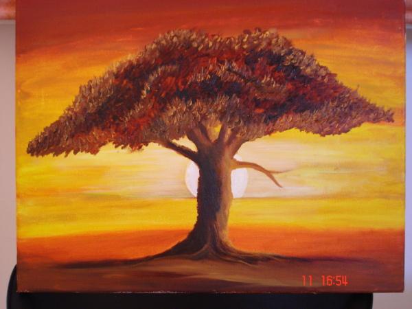 Artworks Tableau-darbre-peinture