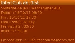 [W40k] Inter-Club des Loups du Téméraire le 15 octobre 2011 8050
