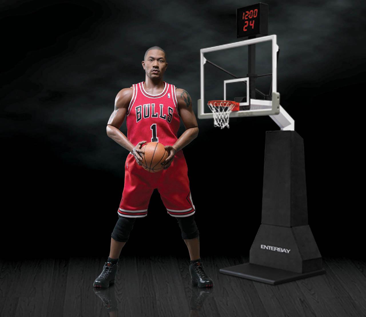 [Enterbay] NBA Real Masterpiece: Derrick Rose (Chicago Bulls) EB