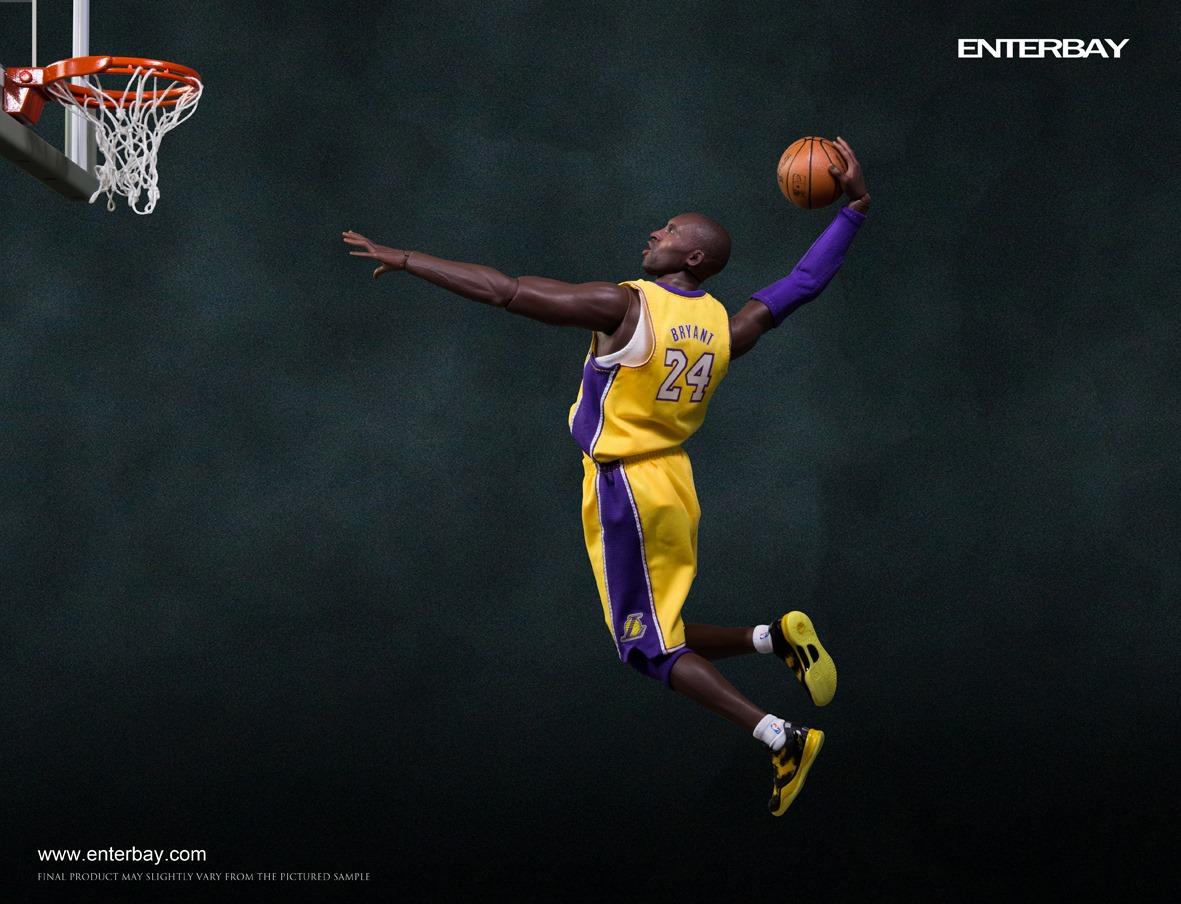 [Enterbay] NBA Real Masterpiece: Kobe Bryant 2.0 (Los Angeles Lakers) Eb6