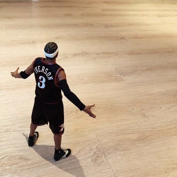 [Enterbay] NBA Legend Series: Allen Iverson (Sixers) | 1/6 scale Eve2