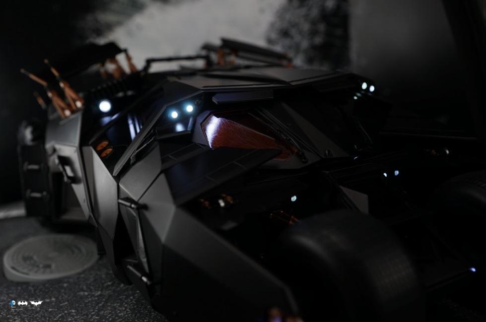 [Soap Studio] 1/12 Remote Car | The Dark Knight Trilogy - Tumbler 1201