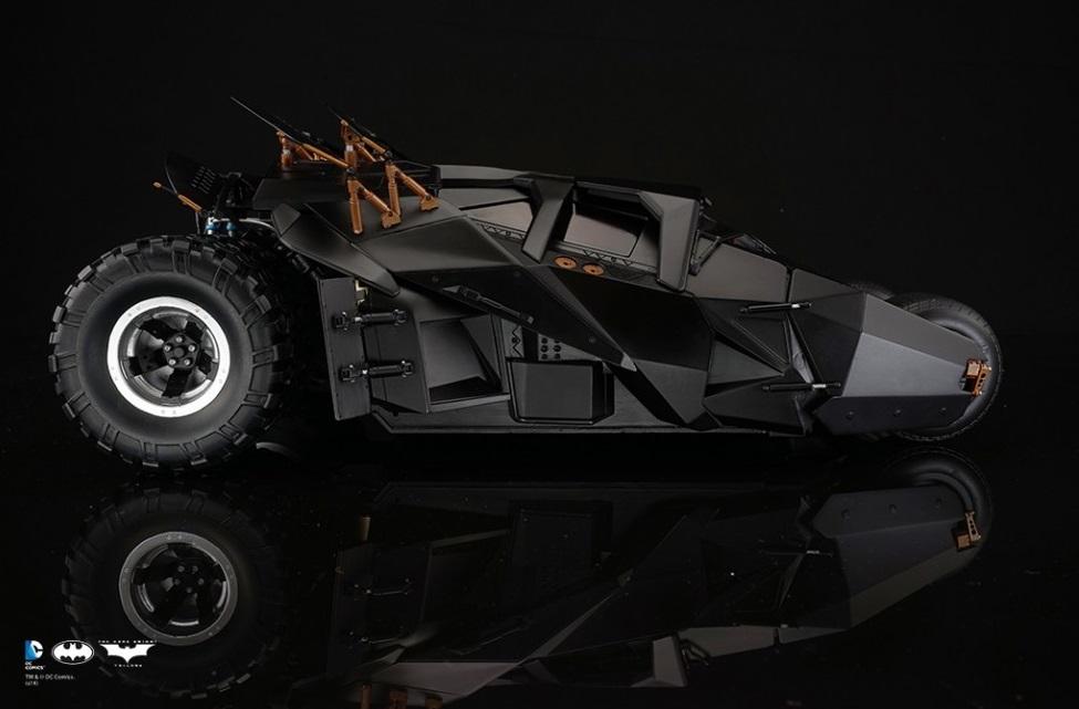 [Soap Studio] 1/12 Remote Car | The Dark Knight Trilogy - Tumbler 1204