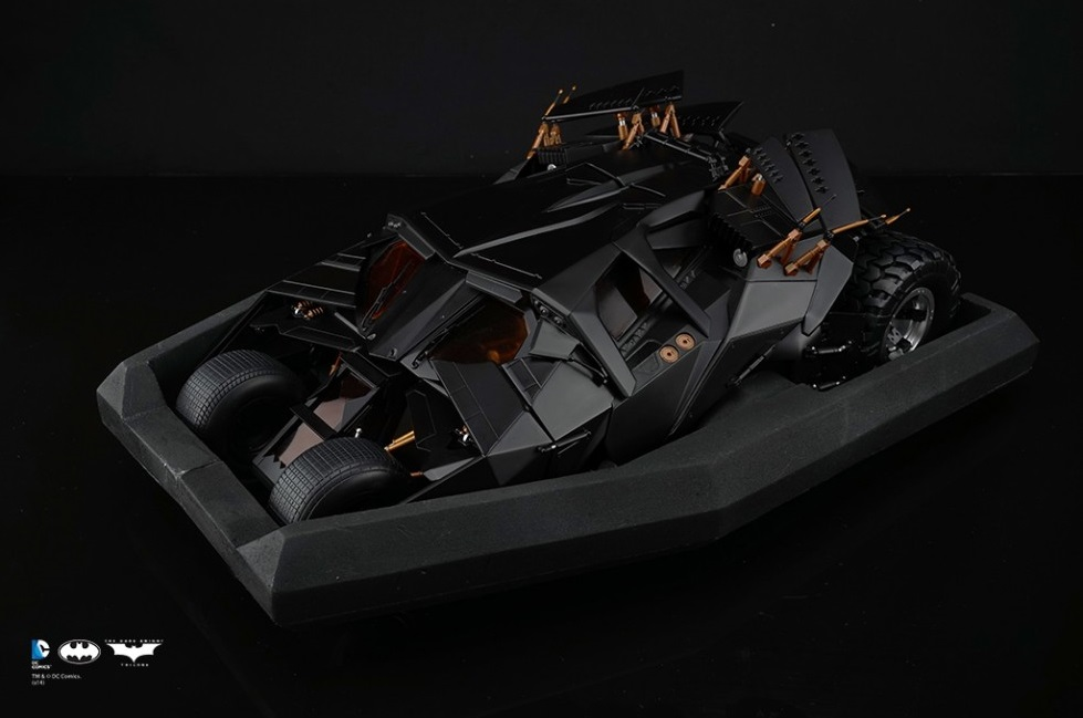 [Soap Studio] 1/12 Remote Car | The Dark Knight Trilogy - Tumbler 1207