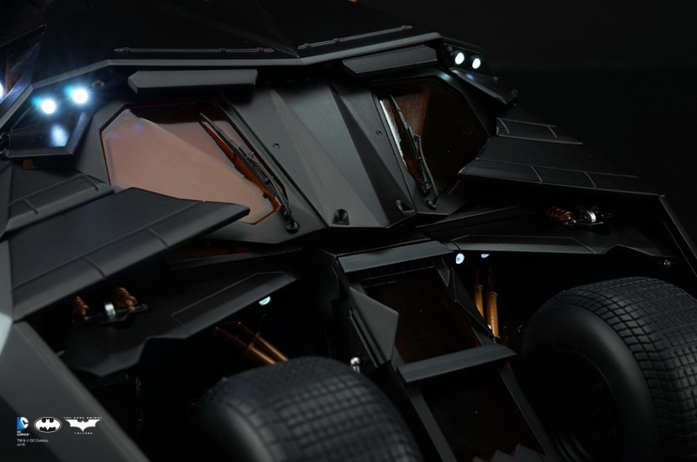[Soap Studio] 1/12 Remote Car | The Dark Knight Trilogy - Tumbler 1208