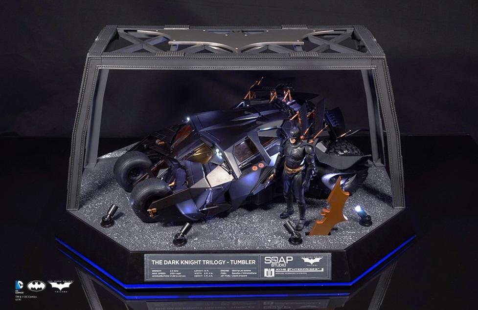 [Soap Studio] 1/12 Remote Car | The Dark Knight Trilogy - Tumbler 1211