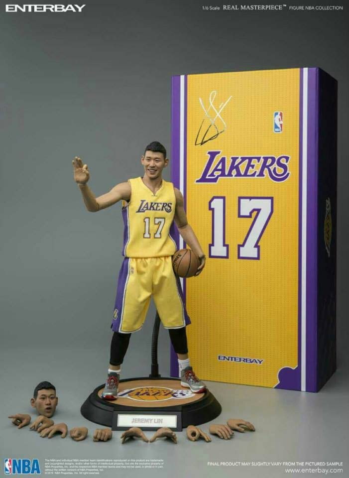 [Enterbay] NBA Series: Jeremy Lin (Los Angeles Lakers) EBR01