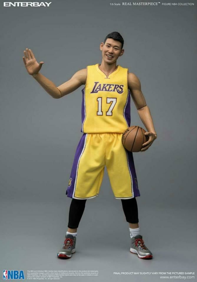 [Enterbay] NBA Series: Jeremy Lin (Los Angeles Lakers) EBR02