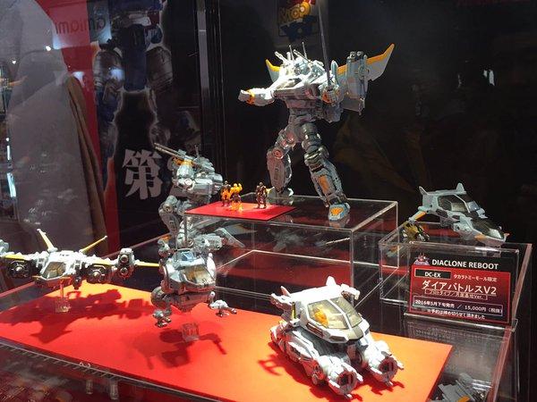 Diaclone: TakaraTomy relance la gamme de jouets Wf16ta009