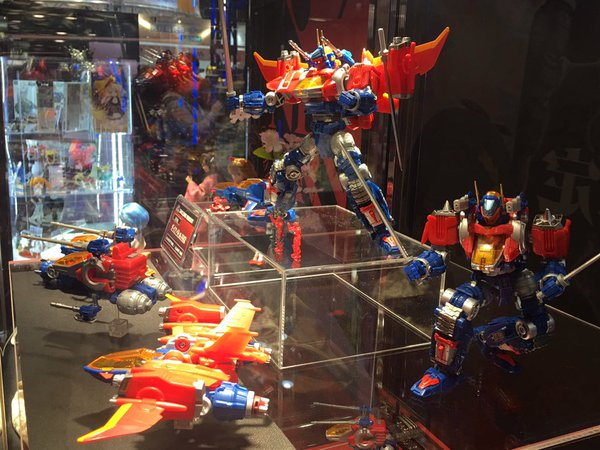 Diaclone: TakaraTomy relance la gamme de jouets Wf16ta011