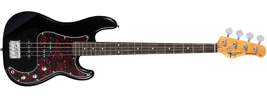 baixo Jay Turser Jtb-400c ou Squier By Fender Affinity Precision Bass 4c TW65_bk