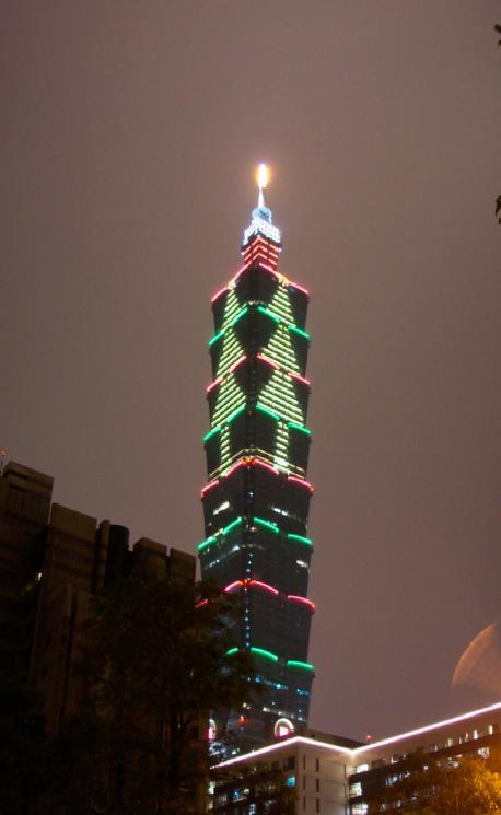 Najviši neboderi svijeta Taipei_101-