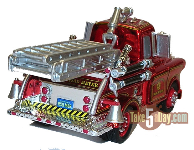 SDCC Rescue Squad Mater Red Ransburg Mater-back